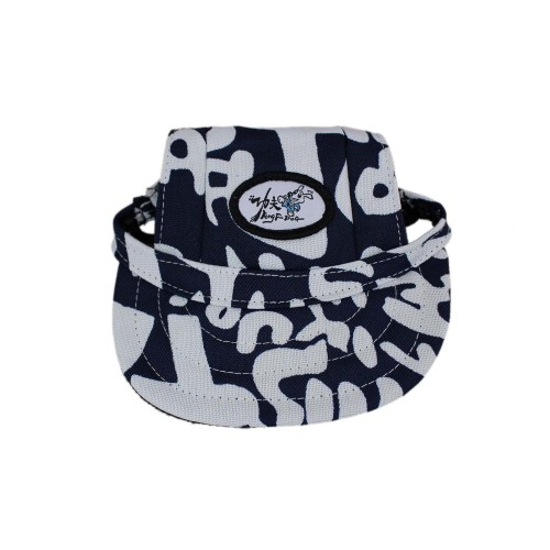 Pet Baseball Cap-Blue Letters