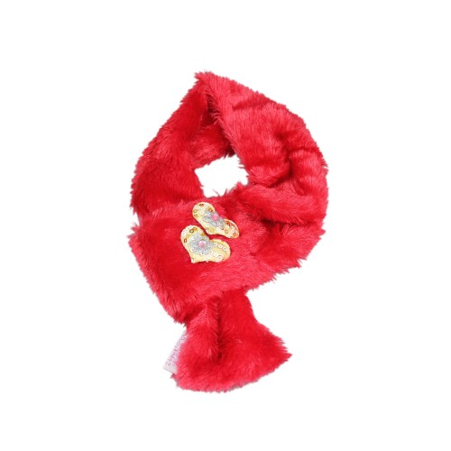 Red Cute Pet Small Scarf