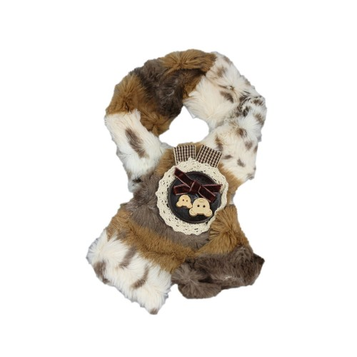 Leopard Fur Pet Scarf
