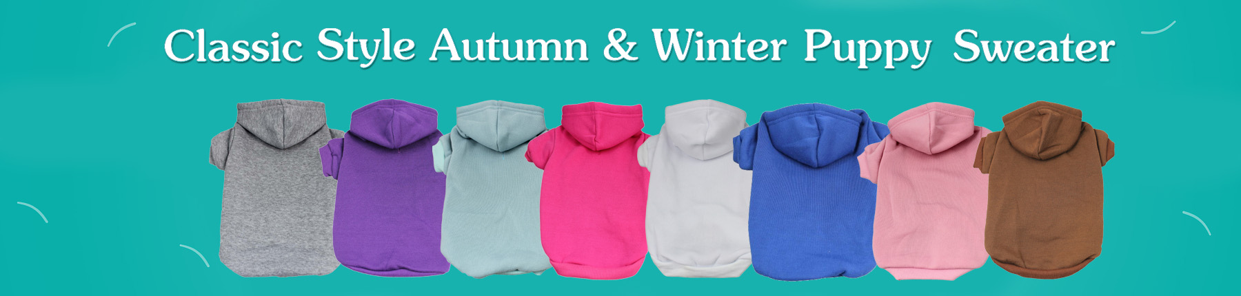 Classic Style Autumn & Winter Puppy Sweater
