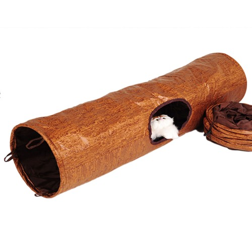 Cat Tunnels Tubes with Crinkle Peep Hole