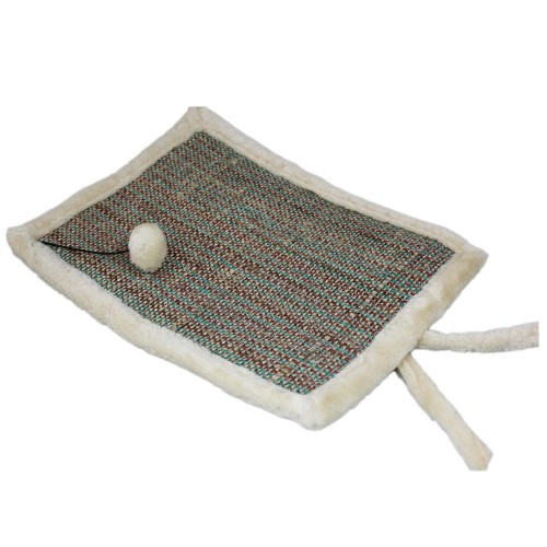 Cat Scratching Mat Sisal Pad Lounger Bed
