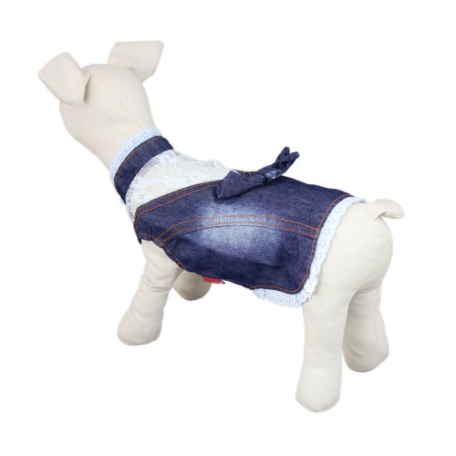 Vogue Dog Denim Clothes Pet Clothes Shirt