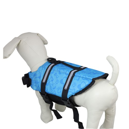 Blue Bones Dog Lifejacket Pet Clothes