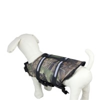 Camouflage Dog Lifejacket-Small
