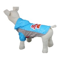Blue Leisure Water-Proof Dog Raincoat
