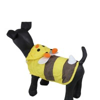 Cute Bees Waterproof Pet RainCoat Dog Clothes Jacket