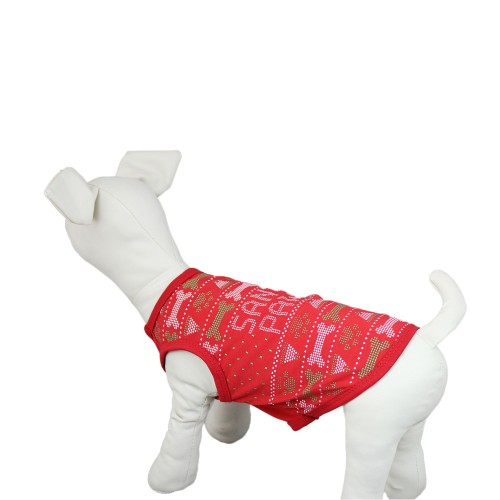 Christmas Series Dog Vest T-Shirt Pet Clothes