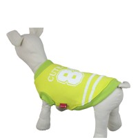 Pet Baseball Jacket Dog Coat Sweater-Green