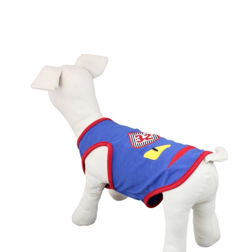 Pet Devil Shirt Vest Tops Dog Clothes Blue
