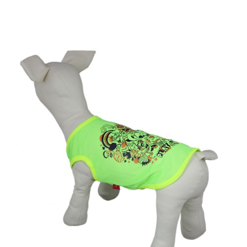 Pet Sunscreen Breathable Tank Top Dog T-Shirt-Green