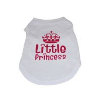 Princess Dog Tank Top T-Shirt White