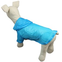 Dog Summer Thin Sunscreen Shirt Hoodie Clothes, Blue