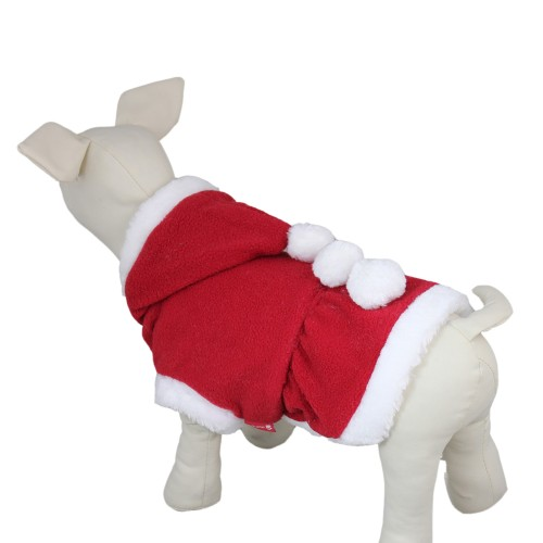 Pet Christmas Suit Dog Hoodie Coat