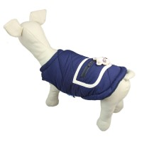 Pet Warm Back Doll Zipper Jacket