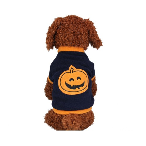 Christmas Halloween Pumpkin Style Dog Clothes