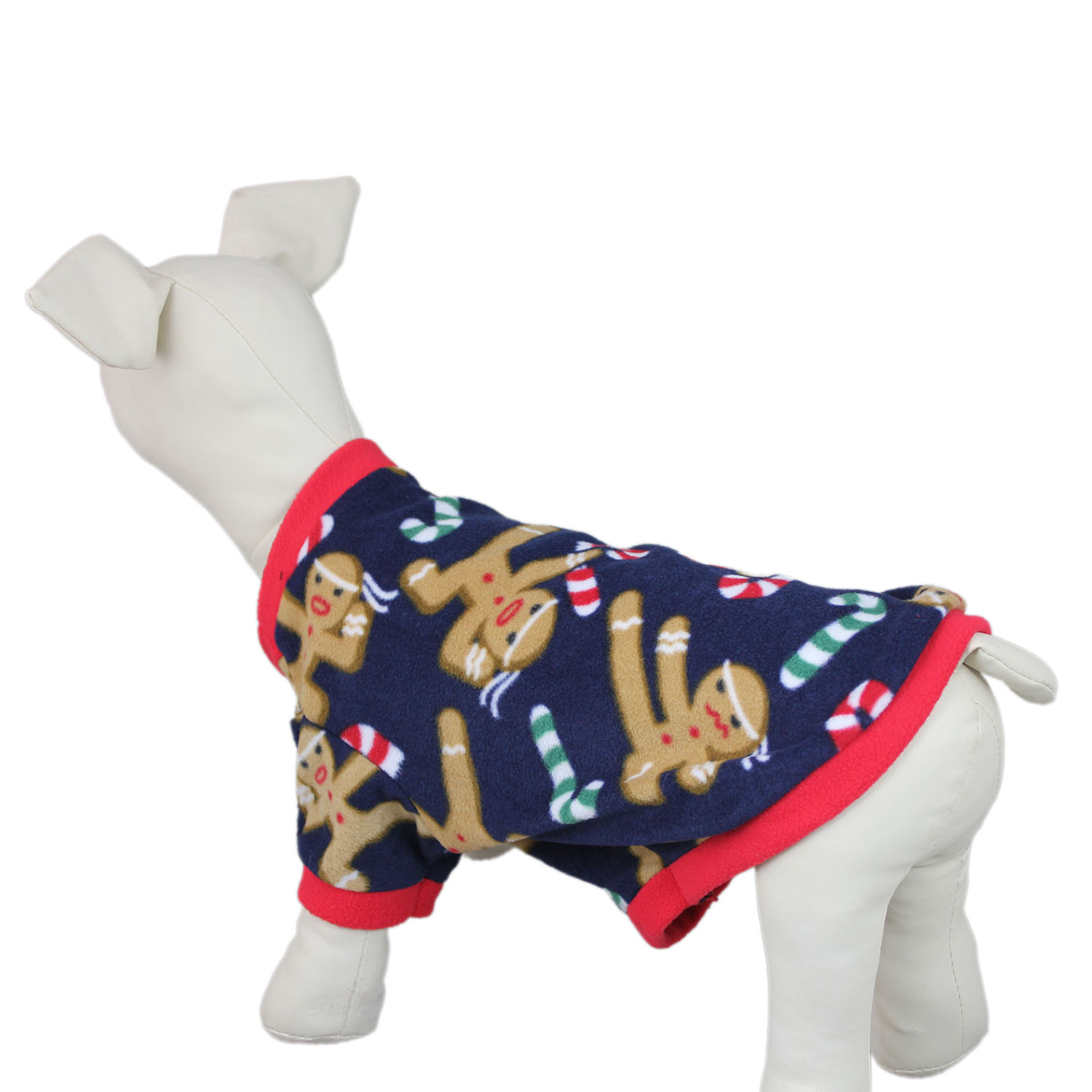 christmas dog pullover embroidered sweater coat jacket