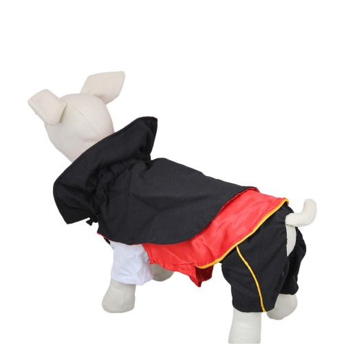 Pet Vampire Cloak Suit Pet Clothes Dog Coat