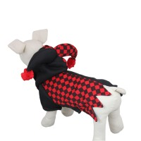 Clown Cosplay Pet Clothes Dog Sweatshirt Coat