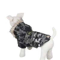 Classic Camouflage Pet Coat Dog Jacket, Green
