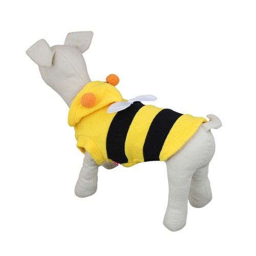 Cute Bees Costume Dog Hoodie Jacket Coat