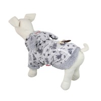 Gray Animal Series Pet Warm Coat Dog Hoodie Clothes