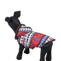 Warm Berber Fleece Hooded Pet Coat Dog Clothes