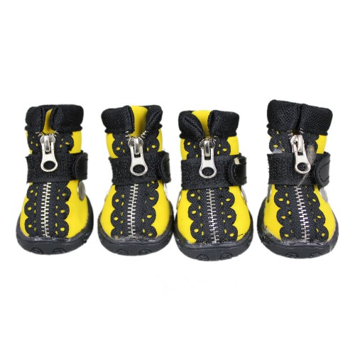 Dog Athletic Series Pet Shoes Yellow