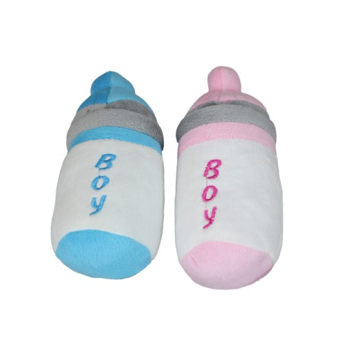 Training Dog Squeaky Chew Toy Feeding Bottle
