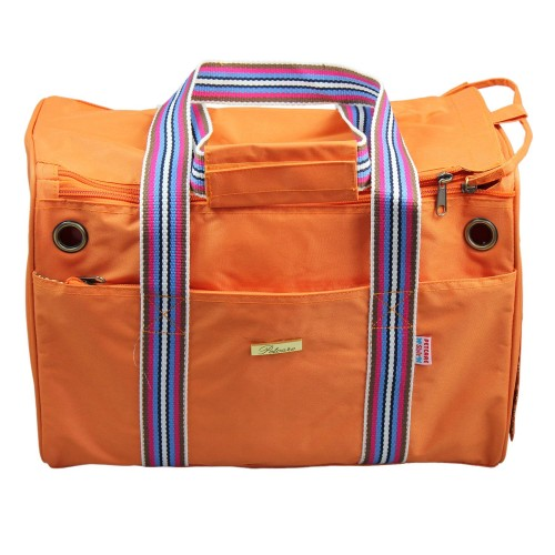 Orange Dog Travel Carrier Bag