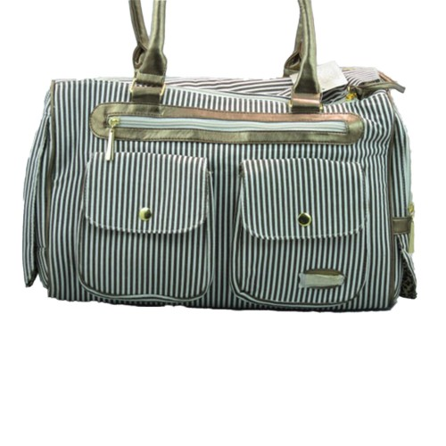 Coffee Stripe Travel Carrier bag