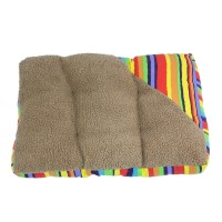 Colorful Detachable Fleece Pet Pad Dog Mat Cushion