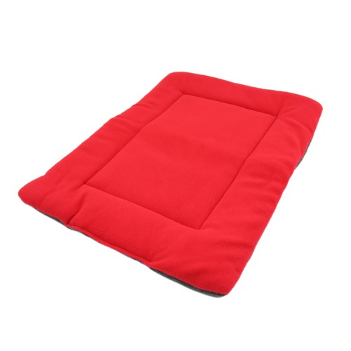 Simple Comfort Pet Dog Crate Mat and Nap Pad, Red