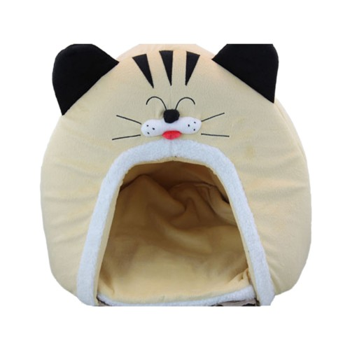 Buff Cat face Series Shapes Pet Bed Dog House