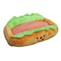 Hot Dog Design Sofa Kennel Removable Washable Pet Mat Bed
