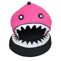 Pink Pirate Shark Pet Bed Dog House