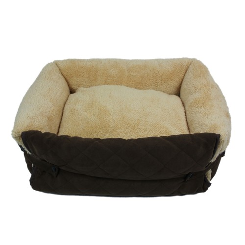 Suede Washable Multifunctional Pet Sofa Dog Bed