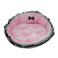 Pink Cute Pet Cradle Dog Bed
