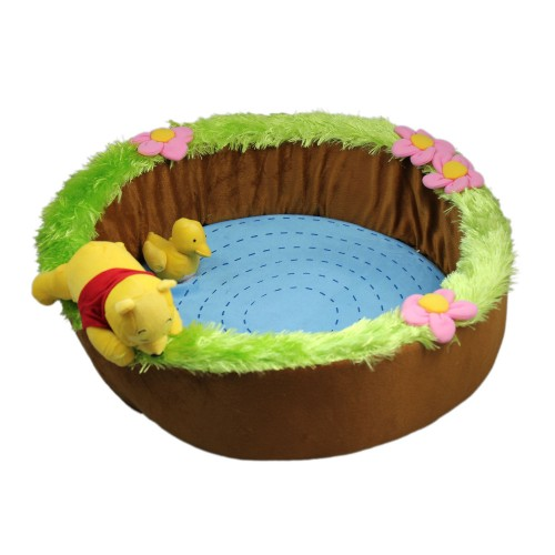 Cute Blue Bowl Shaped Pet Bed Dog House