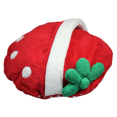 Cute Strawberry Pet Bed Dog Nest Puppy House