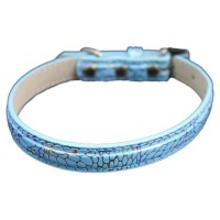 Fashion Simple Pet Collars Blue