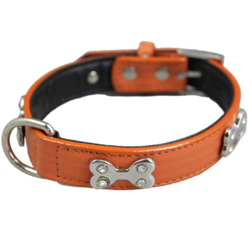 Fashion Charm Bone Adjustable Pet Collars