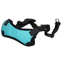 Adjustable Pet Vehicle Safety Chest Strap Blue